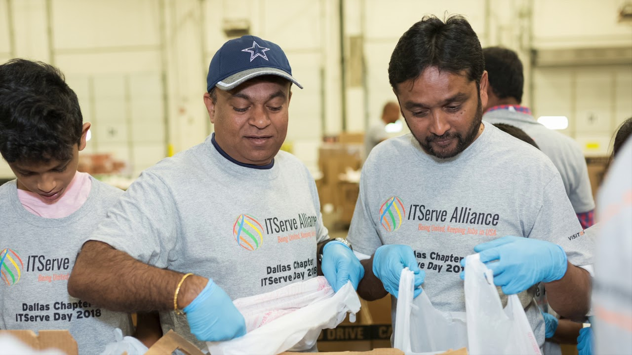 ITServe Members Serve To Feed The Hungry At The NTFB