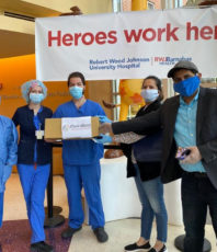 Contributed 150 masks to RWJ University Hospital