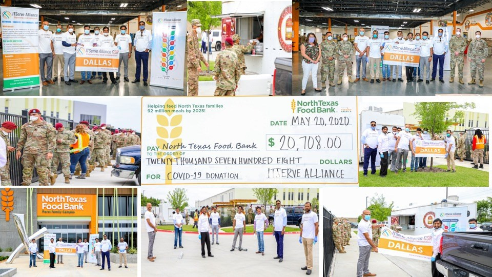 Dallas chapter CSR has provided more than 1250 lunches