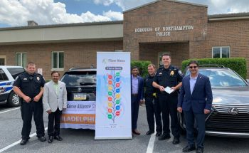 Contributed $1,000 to support the Northampton Borough Police Department