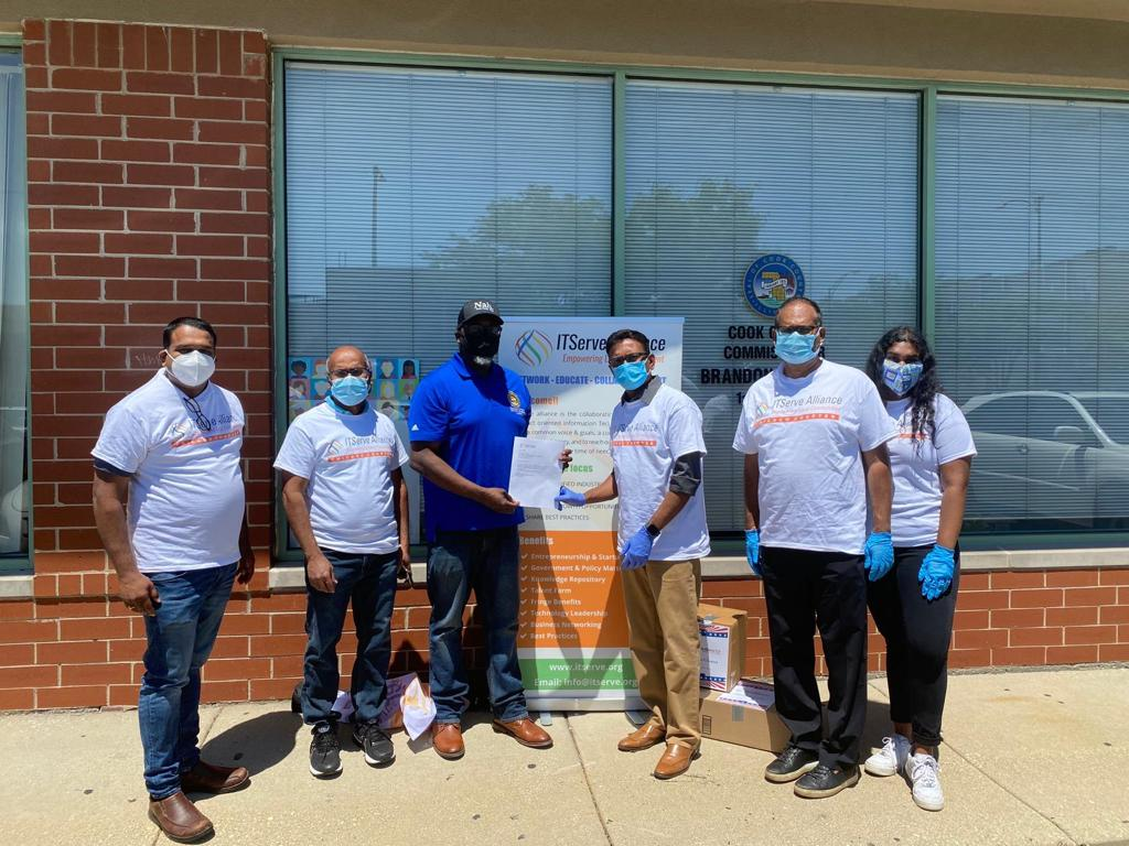 ITServe Chicago started the week with yet another CSR activity