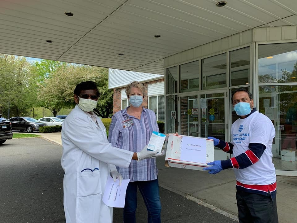 Contributed 100 KN-95 masks to Wilton Meadows Nursing Home