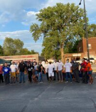 Donated 2400 servings of meals to the struggling Calumet City community residents