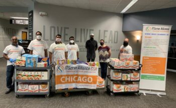 A couple of members from Joliet First Assembly wanted to share a kind message and thank you to the ITServe CSR