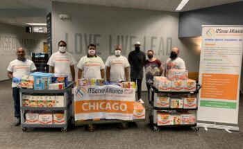 Donated 2500 meals for low-income families affected by COVID-19 at Joliet First Assembly