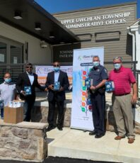 Donated 500 surgical masks and 70 N95 masks for our first responders