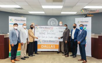 Donation of $9,000 to Coppell ISD students to provide hot spots