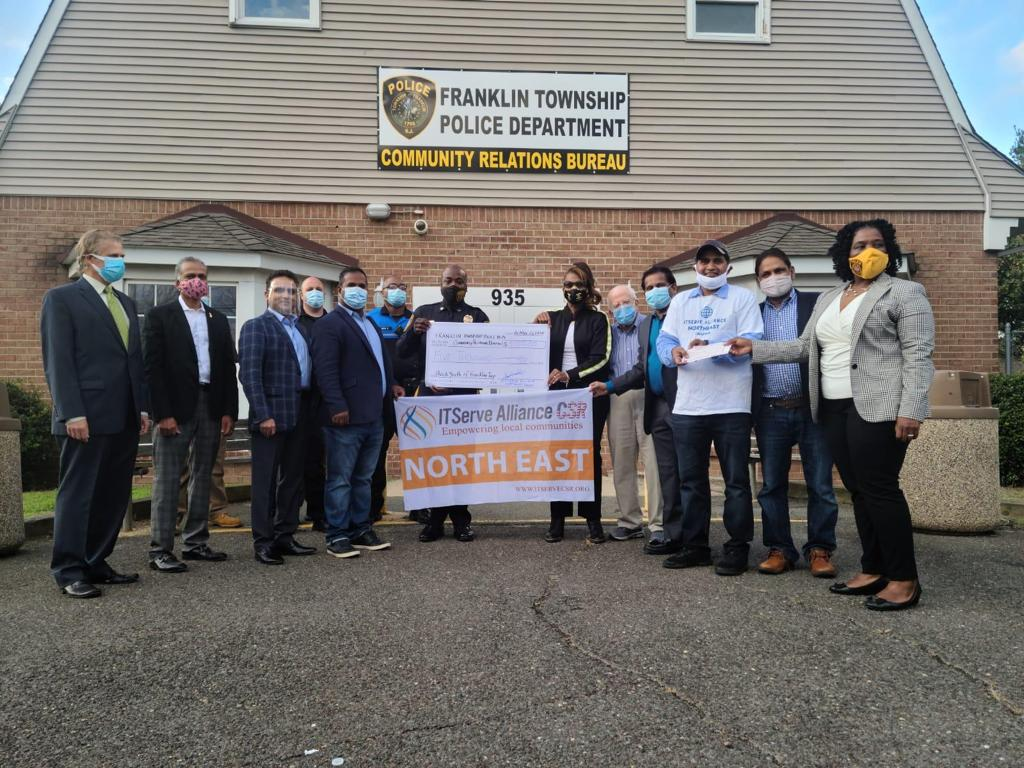 Donation of $5,000 to the Franklin Township Police Department