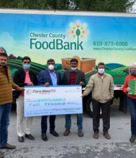 Donated $2,000 to the Chester County Foodbank