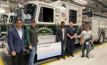 Donated $2,000 to the Limerick Fire Department for their service
