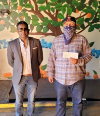 Donated $2,500 to the OC Food Bank