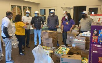 TeamDallas CSR drive partnering with Harvest Project yet again to provide 1750 meals to feed 350+ families