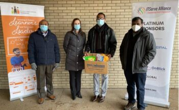 Donated $3,000 in Sanitary Kits to the St. Louis Public Schools Foundation