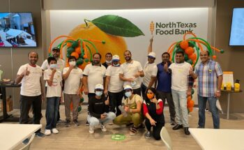 DALLAS Chapter has volunteered and helped pack 15,300 Meals at North Texas Food Bank