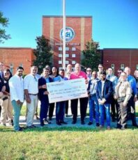 Team Charlotte Donated $1500 to  Union County Sheriffs Office for their dedicated service